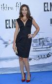 Alicia Rubio attends the premiere of 'El Nino' at Kinepolis Cinema on August 28 2014 in Madrid Spain