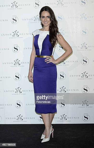 Alicia Sanz attends Anton Heunis Jewelry 10th anniversary at the Sala de Alhajas on May 21 2014 in Madrid Spain