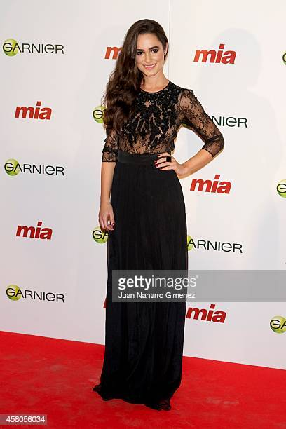 Alicia Sanz attends 'Cuida De Ti' charity awards 2014 at COAM on October 29 2014 in Madrid Spain