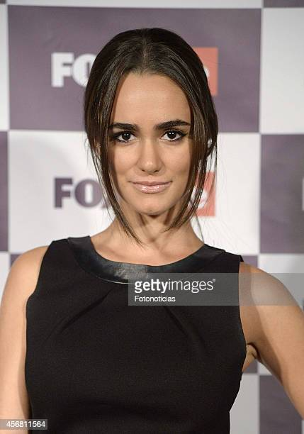 Alicia Sanz attends Fox Life channel cocktail presentation at Club Pinar on October 7 2014 in Madrid Spain