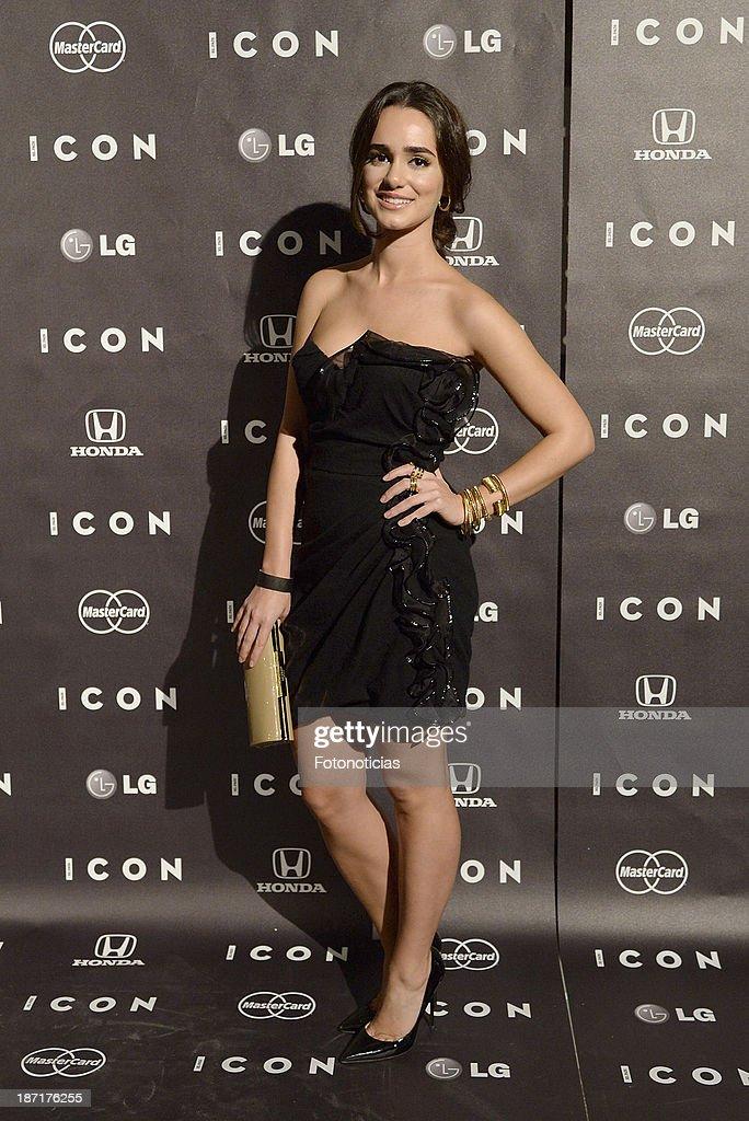Alicia Sanz attends 'Icon' magazine launch party at the Circulo de Bellas Artes on November 6, 2013 in Madrid, Spain.
