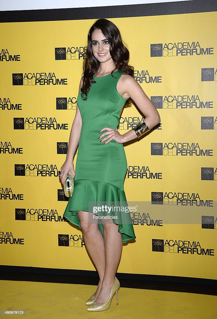 <a gi-track='captionPersonalityLinkClicked' href=/galleries/search?phrase=Alicia+Sanz&family=editorial&specificpeople=6914153 ng-click='$event.stopPropagation()'>Alicia Sanz</a> attends the 2014 Perfume Academy awards at Casa de America on March 27, 2014 in Madrid, Spain.