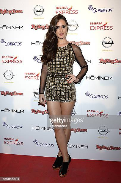 Alicia Sanz attends the 2014 Rolling Stone Magazine Awards at Joy on December 2 2014 in Madrid Spain