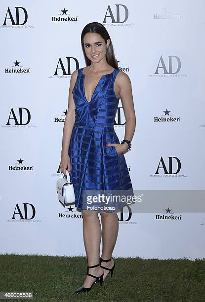 Alicia Sanz attends the AD Architectural Digest 2015 Awards at The Ritz Hotel on March 12 2015 in Madrid Spain