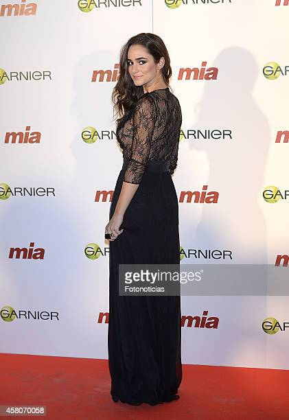 Alicia Sanz attends the 'Cuida De Ti' charity awards ceremony at the COAM on October 29 2014 in Madrid Spain