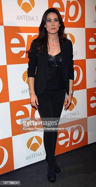Alicia Senovilla attends 'Espejo Publico' 2012 Awards on January 26 2012 in Madrid Spain