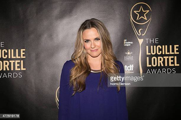 Alicia Silverstone attends the 30th Annual Lucille Lortel Awards at NYU Skirball Center on May 10 2015 in New York City