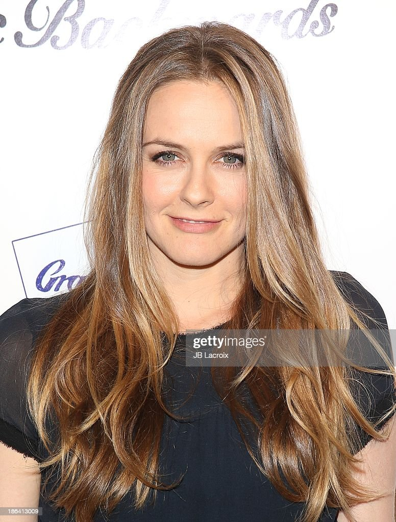 Alicia Silverstone attends the 'Ass Backwards' Los Angeles Premiere at the Vista Theatre on October 30, 2013 in Los Angeles, California.