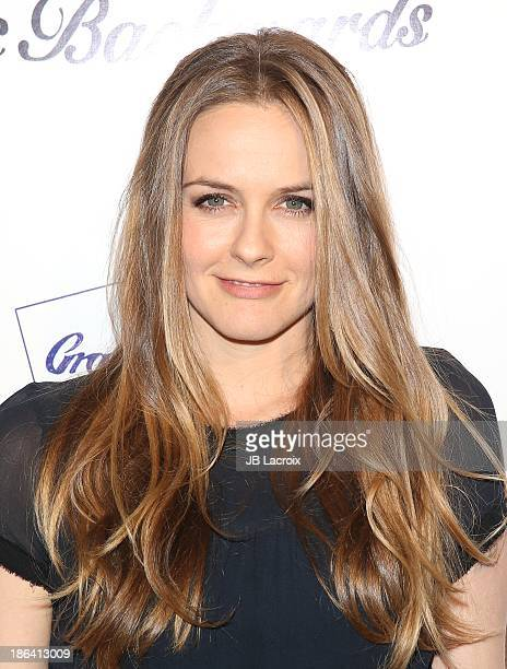 Alicia Silverstone attends the 'Ass Backwards' Los Angeles Premiere at the Vista Theatre on October 30 2013 in Los Angeles California