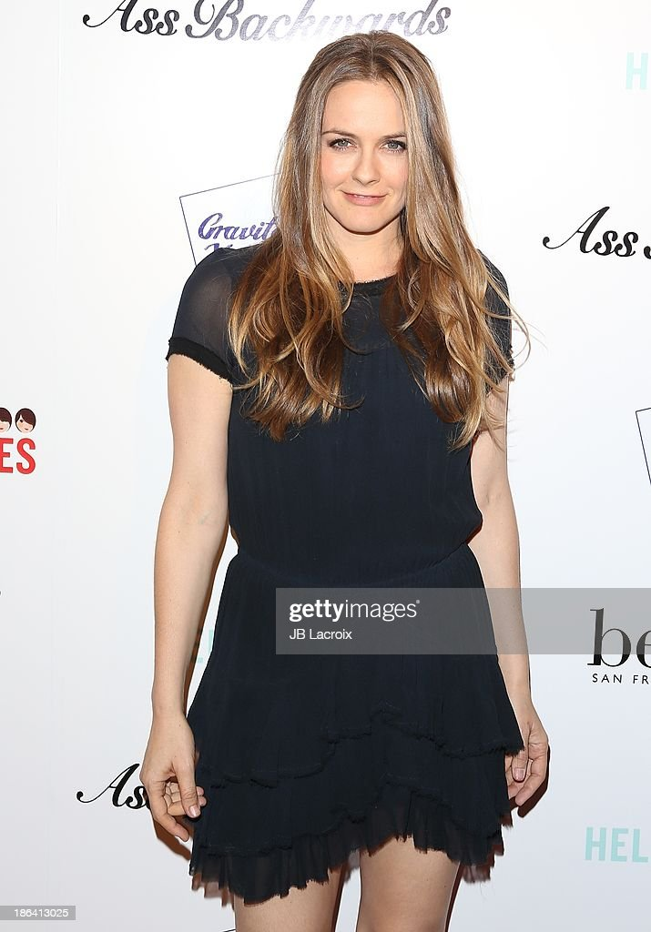 <a gi-track='captionPersonalityLinkClicked' href=/galleries/search?phrase=Alicia+Silverstone&family=editorial&specificpeople=202861 ng-click='$event.stopPropagation()'>Alicia Silverstone</a> attends the 'Ass Backwards' Los Angeles Premiere at the Vista Theatre on October 30, 2013 in Los Angeles, California.