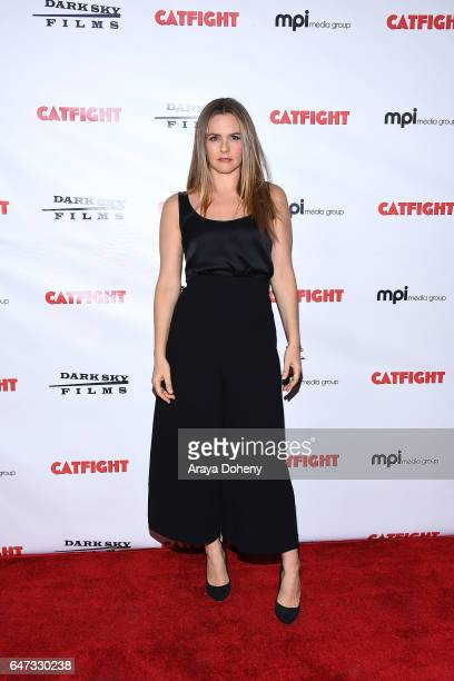 Alicia Silverstone attends the premiere of Dark Sky Films' 'Catfight' at Cinefamily on March 2 2017 in Los Angeles California