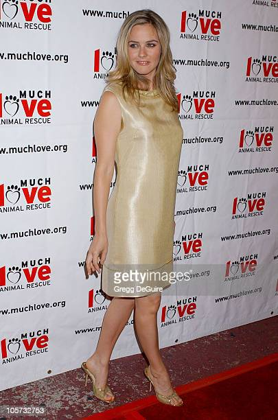 Alicia Silverstone during 4th Annual Much Love Animal Rescue Celebrity Comedy Benefit Arrivals at The Laugh Factory in Hollywood California United...