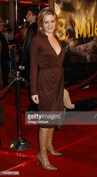 Alicia Silverstone during '8 Mile' Westwood Premiere at Mann Village Theatre in Westwood California United States