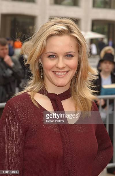 Alicia Silverstone during NBC 20032004 Upfront Arrivals at The Metropolitan Opera House in New York City New York United States
