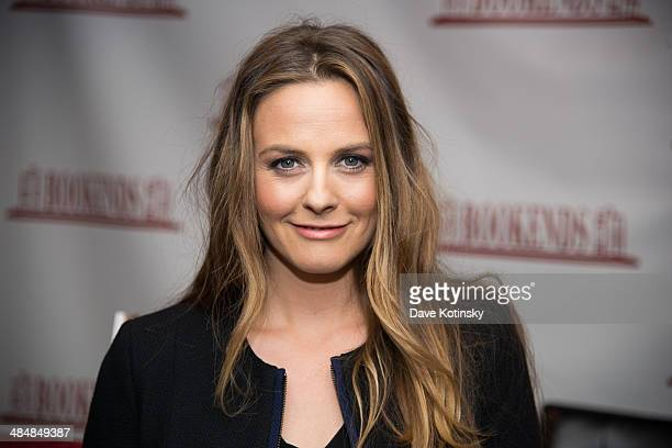 Alicia Silverstone Signs Copies Of Her Book 'The Kind Mamma' at Bookends Bookstore on April 14 2014 in Ridgewood New Jersey