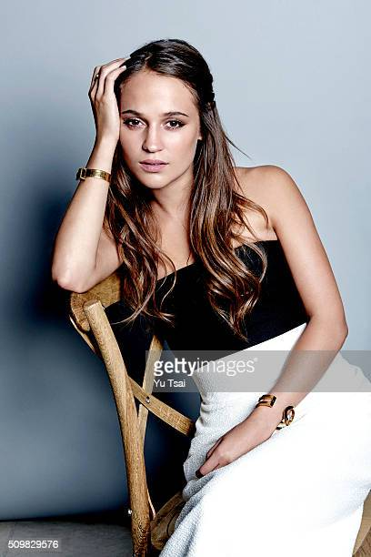 Alicia Vikander is photographed at the Toronto Film Festival for Variety on September 12 2015 in Toronto Ontario Published Image