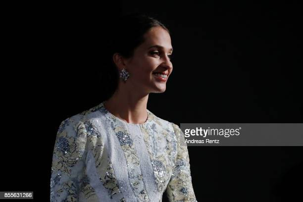 Alicia Vikander is seen on stage at the 'Euphoria' premiere during the 13th Zurich Film Festival on September 29 2017 in Zurich Switzerland The...