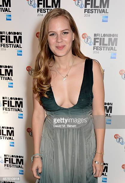 Alicia von Rittberg attends the party for the Closing Night Gala Premiere for 'Fury' during the 58th BFI London Film Festival at Odeon Leicester...