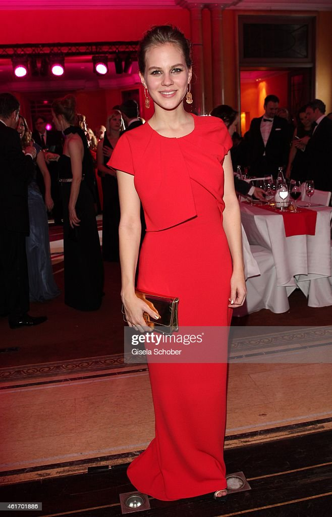 Alicia von Rittberg during the German Filmball 2015 at Hotel Bayerischer Hof on January 17, 2015 in Munich, Germany.