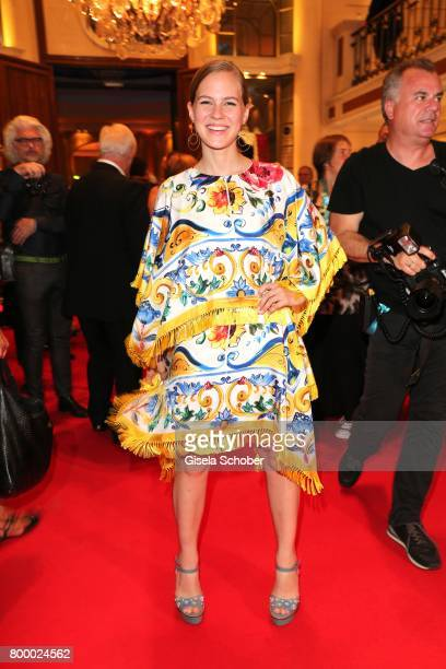 Alicia von Rittberg during the opening night party of the Munich Film Festival 2017 at Hotel Bayerischer Hof on June 22 2017 in Munich Germany