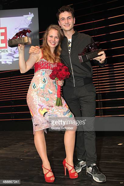 Alicia von Rittberg Samuel Schneider attend the New Faces Award Film 2014 at eWerk on May 8 2014 in Berlin Germany