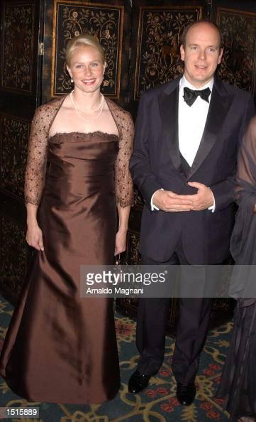 Alicia Warlick and Prince Albert...