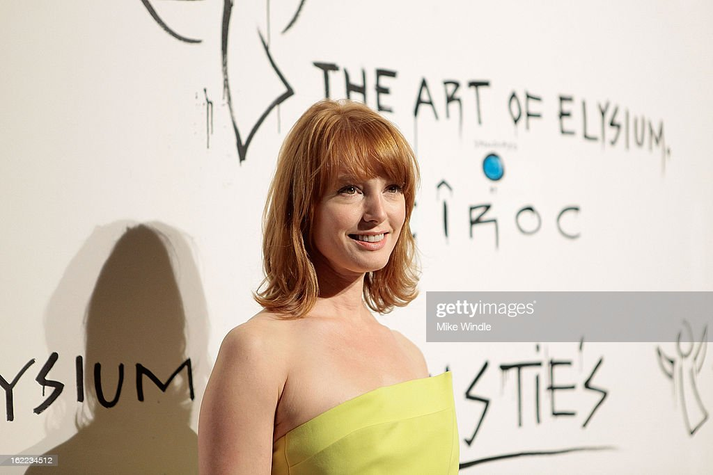 Alicia Witt attends The Art Of Elysium's 6th annual 'Pieces Of Heaven' powered by Ciroc Ultra Premium Vodka at Ace Museum on February 20, 2013 in Los Angeles, California.
