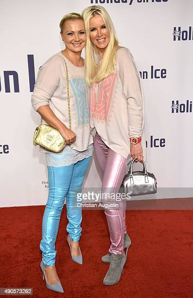 Alida Kurras and Anna Heesch attend the Holiday On Ice Gala 'Believe' at the hotel Atlantic on September 29 2015 in Hamburg Germany