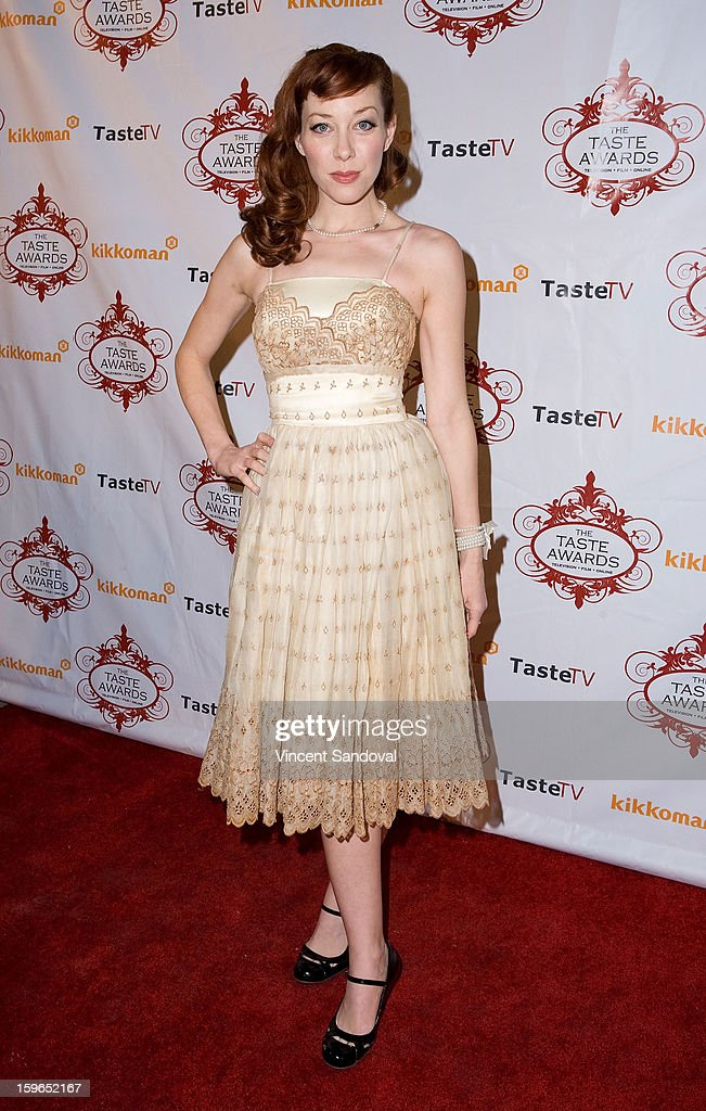 Alie Ward attends the 4th annual Taste Awards at Vibiana on January 17, 2013 in Los Angeles, California.