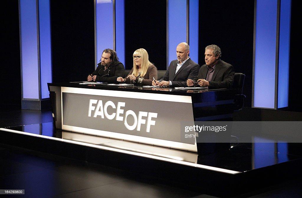 OFF -- 'Alien Apocalypse' Episode 410 -- Pictured: (l to r) Glenn Hetrick, Ve Neill, Neville Page, Michael Nankin --