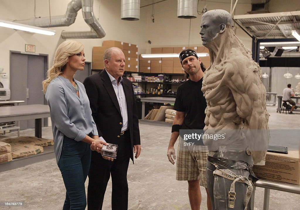 OFF -- 'Alien Apocalypse' Episode 410 -- Pictured: (l to r) McKenzie Westmore, Michael Westmore, Kris Kobzina --