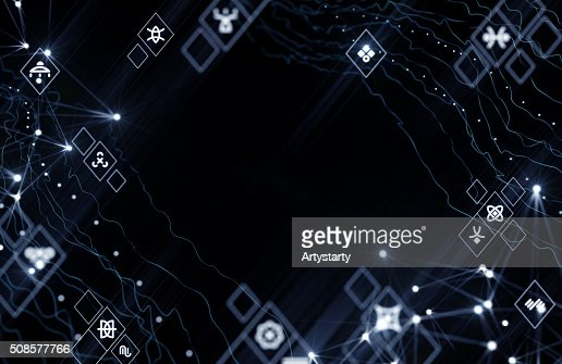 Alien Cyberspace : Stock Photo