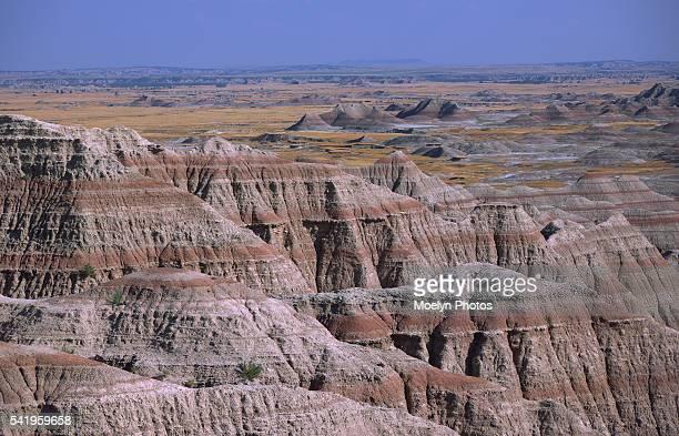 Alien Landscape-Badlands National Park-SD