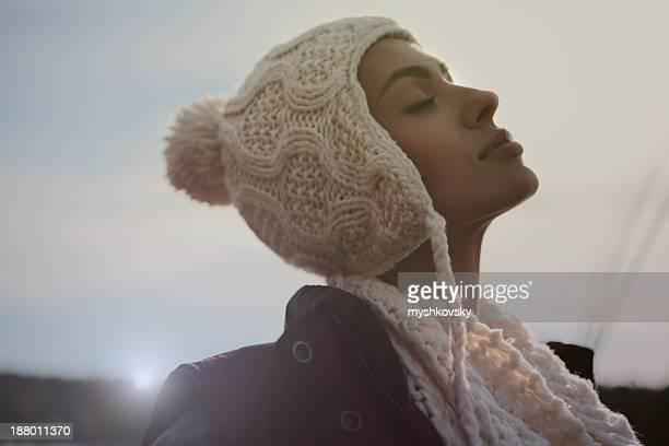 Alien Woman portrait.