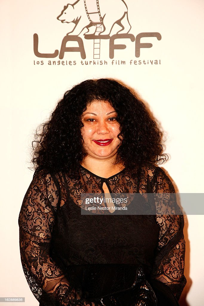 Alin Tasciyan attends The 2nd Annual Los Angeles Turkish Film Festival Opening at the Egyptian Theatre on February 28, 2013 in Hollywood, California.