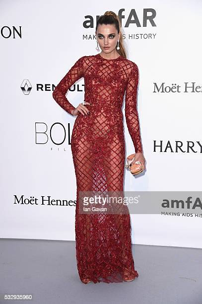 Alina Baikova arrives at amfAR's 23rd Cinema Against AIDS Gala at Hotel du CapEdenRoc on May 19 2016 in Cap d'Antibes France