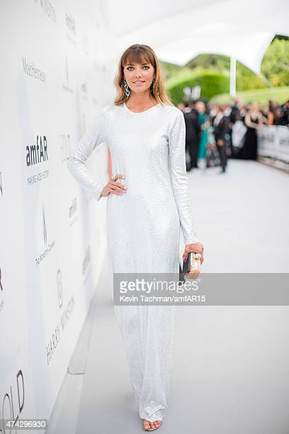 Alina Baikova arrives for the amfAR 22nd Annual Cinema Against AIDS Gala at Hotel du CapEdenRoc on May 21 2015 in Cap d'Antibes France