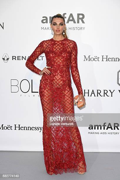 Alina Baikova attends the amfAR's 23rd Cinema Against AIDS Gala at Hotel du CapEdenRoc on May 19 2016 in Cap d'Antibes France