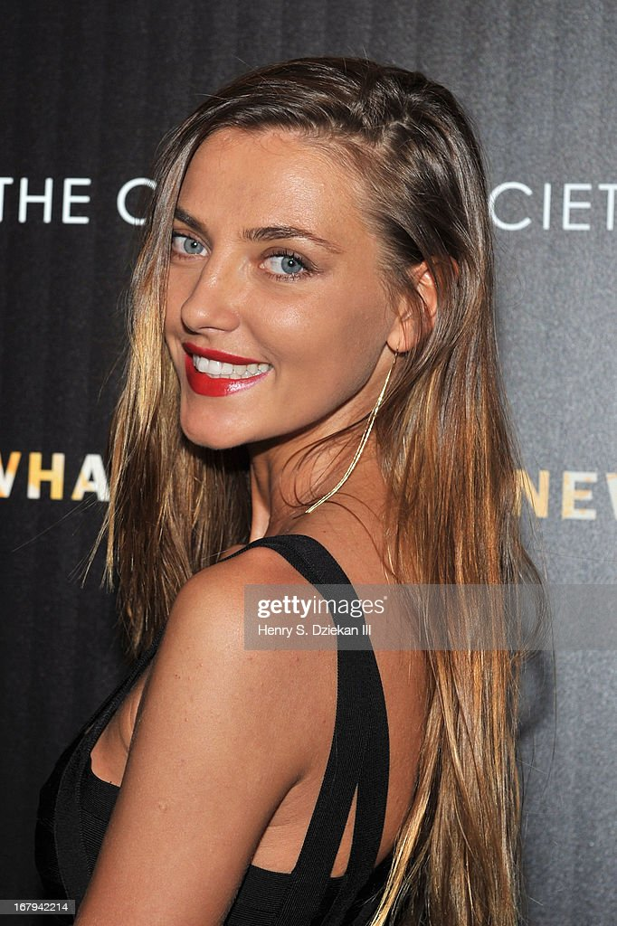 Alina Baikova attends The Cinema Society with Tod's & GQ screening of Millennium Entertainment's 'What Maisie Knew' at Sunshine Landmark on May 2, 2013 in New York City.