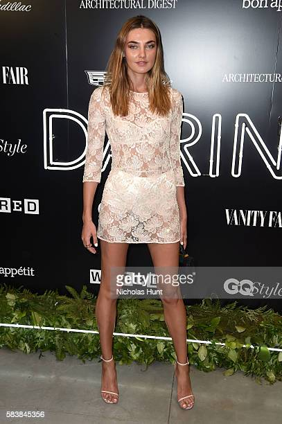 Alina Baikova attends the Daring 25 presented by Conde Nast Cadillac at the Cadillac House on July 27 2016 in New York City