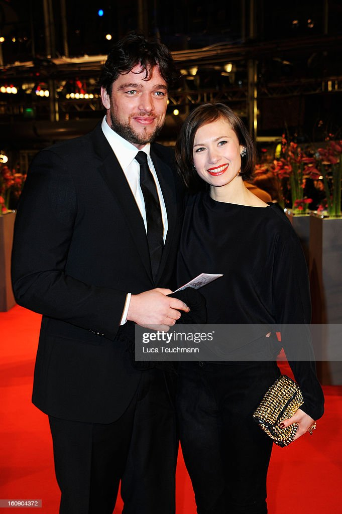 Alina Levshin (R) and guest attend 'The Grandmaster' Premiere during the 63rd Berlinale International Film Festival at Berlinale Palast on February 7, 2013 in Berlin, Germany.