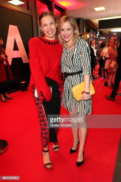 Alina Levshin and Jasmin Schwiers during the New Faces Award Film at Haus Ungarn on April 27 2017 in Berlin Germany