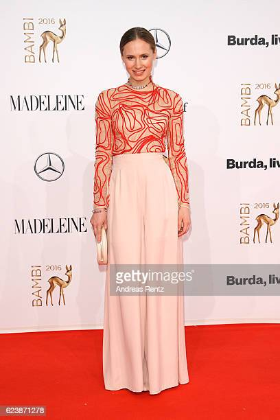 Alina Levshin arrives at the Bambi Awards 2016 at Stage Theater on November 17 2016 in Berlin Germany