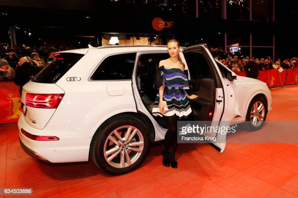 Alina Levshin attend the 'Django' premiere during the 67th Berlinale International Film Festival Berlin at Berlinale Palace on February 9 2017 in...