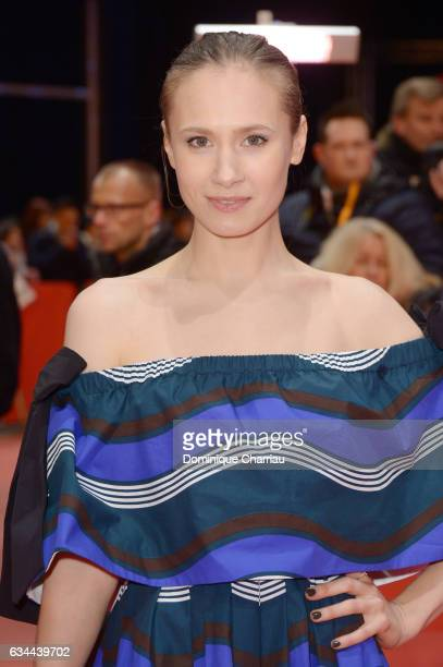 Alina Levshin attends the 'Django' premiere during the 67th Berlinale International Film Festival Berlin at Berlinale Palace on February 9 2017 in...