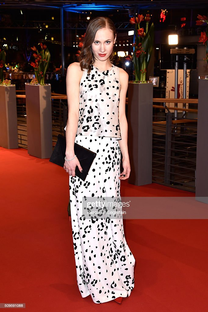 Alina Levshin attends the 'Hail Caesar' premiere during the 66th Berlinale International Film Festival Berlin at Berlinale Palace on February 11 2016...