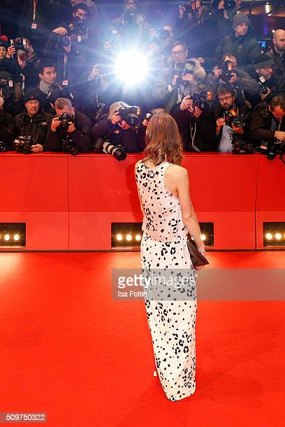 Alina Levshin attends the 'Hail Caesar' Premiere during the 66th Berlinale International Film Festival on February 11 2016 in Berlin Germany