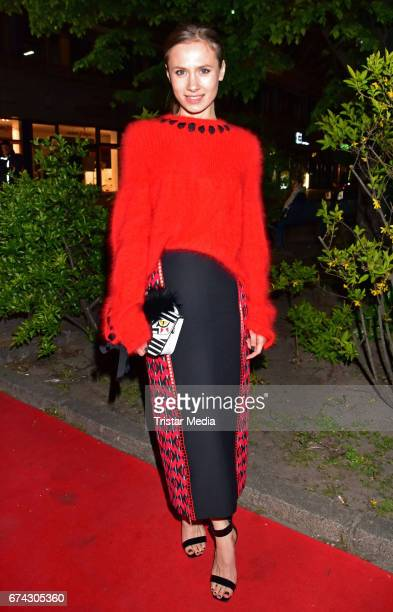 Alina Levshin attends the New Faces Award Film at Haus Ungarn on April 27 2017 in Berlin Germany