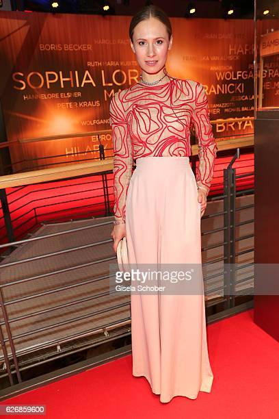 Alina Levshin during the Bambi Awards 2016 arrivals at Stage Theater on November 17 2016 in Berlin Germany