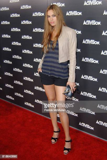 Alina Puscau attends ACTIVISION E3 2010 PREVIEW EVENT AT STAPLES CENTER at Staples Center on June 14 2010 in Los Angeles California